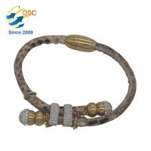Personnalisé pas cher bijoux en acier inoxydable simples modèles de bracelet Nouveau style pas cher en gros réglable Bracelet