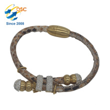 Custom cheap stainless steel jewelry Single Bangle Designs New Style Cheap Wholesale Adjustable Bracelet