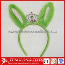 Halloween Dekorationen Kinder Geliebten Plüsch grünes Haar Band mit Krone
