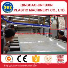 PVC-nachgemachtes Marmorbrett, das Maschine herstellt