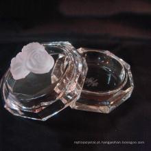 Best-seller caixa de jóias de cristal, presentes de cristal K9