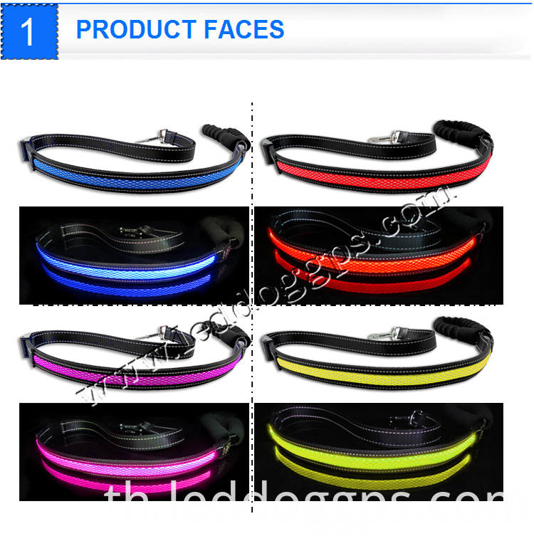 Led Flashing Dog Leads
