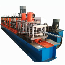 Baja Logam Palisade Pagar Post Roll Forming Machine