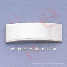 Logo personnalisé de la plaque signalétique en métal pour sac / sac à main (N24-753S)