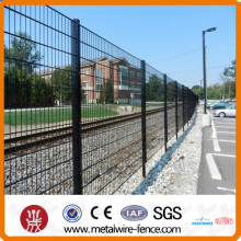 Proveedor de shengxin soldada doble cerca de malla de alambre horizontal con alta calidad