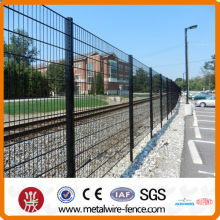 shengxin supplier welded double horizontal wire mesh fence with high quality