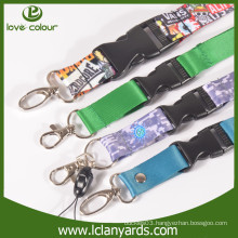 Fashionable polyester lanyard maker with customized logo