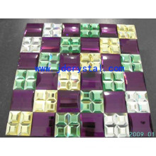 House Decoration Crystal Glass Mirror Mosaic Tile