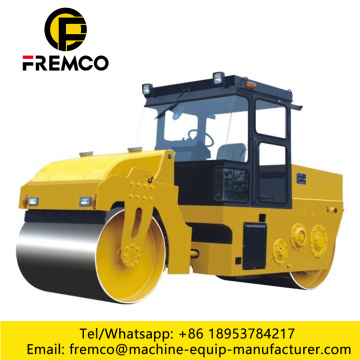 Double Drum Road Roller Used For Road