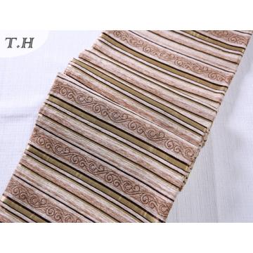 La bande de chenille de couleur claire pour le sofa et le tissu de chaise