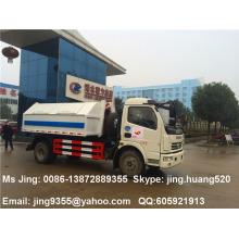 El precio bajo del carro de la basura de China, rodillo en rueda de la capacidad del carro de la basura 5000L