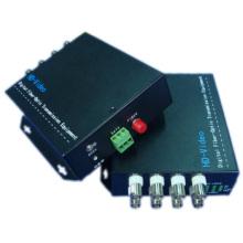 Conversor de vídeo da fibra óptica de 8CH 720p 960p 1080P Cvi / Tvi / Ahd