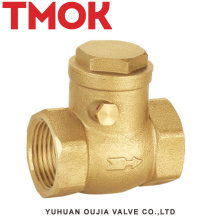 full brass swing female thread check valves