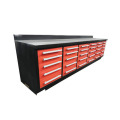 Gabinete de garaje de banco de trabajo de alta calidad con 25 cajones