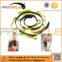 Pilate Stretch-out Strap Belt with Multiple Grip Loops