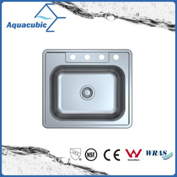 Above Counter Stainless Steel Moduled Kitchen Sink (ACS 6355M)