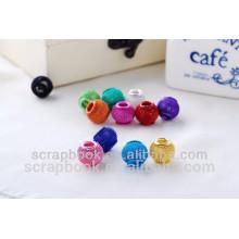 colorful metal bead