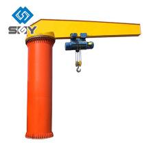 Grúa fija del pilar del alzamiento del brazo de oscilación eléctrico 1T 2T 3T