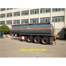 28500 Litres 30T Hydrochloric Acid Trailer Tankers