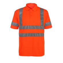 Reflective Strip High Visibility Safety T-Shirt