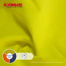 tecido de algodão repelente de insetos laranja com baixo formaldeído
