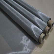 Tejido liso 325mesh / inch malla de alambre de metal de acero inoxidable