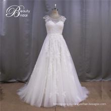 Колпачок западные стили рукав свадебное платье