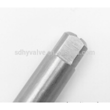 hot sell stainless steel bare stem valve DN50 manufacture