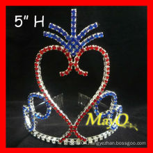 Newest Patriotic pageant tiara crown