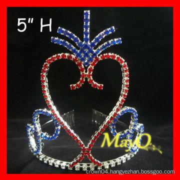 Newest Patriotic pageant tiara crown
