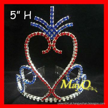 A coroa patriótica a mais nova da tiara da representação