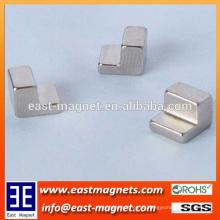 Stuhlformmagnet für Verkauf / spezielle Form ndfeb Magnet für Verkauf
