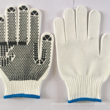 10gauge PVC Dotted Heat Proof dotted cotton  high quality  safety Gloves