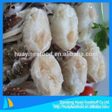 we mainly supply frozen half cut blue swimming crab with competitive price