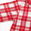 Wholesale Flannel Kids Long Sleeves Plaid Shirts Of European Style