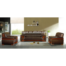 PU/leather customized brown color office sofa