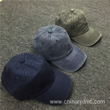 Denim Slogan Baseball Cap