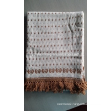 Best Quality Cashmere Jacquard Shawl -Knitting