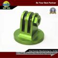 Green Anodized Electrical CNC Turn Mill Aluminium CNC Machining Parts