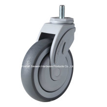 Screw Type Plastic Medical TPR Caster