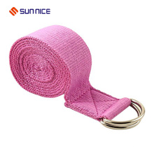 New Style Fabric Density Colorful Yoga Strap