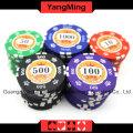 Kronen-Lehm-Poker-Chips stellten ein (760PCS) Ym-Sghg003