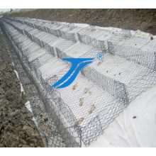 Ts-Hexagonal Mesh Galvanized Gabion Box