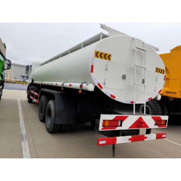 Camion-citerne de carburant Dongfeng 6 * 4 LHD / RHD