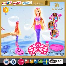 Novo modelo de brinquedo bolha boneca vestir-se jogos para meninas