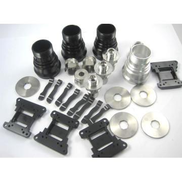 CNC machining aluminum alloy parts production services