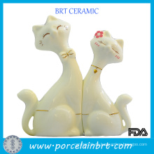 Großhandelskeramische Dekoration-Katzen-Liebhaber, die Geschenk Wedding sind