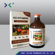 Tier Vitamin B12 und Butafosfan Injektion 100ml