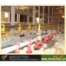 La grange et l'éleveur les plus populaires utilisent l'équipement mécanique pour oiseaux