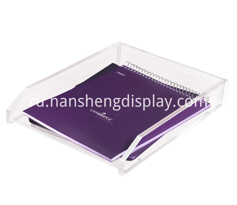Acrylic Office Single Letter Tray